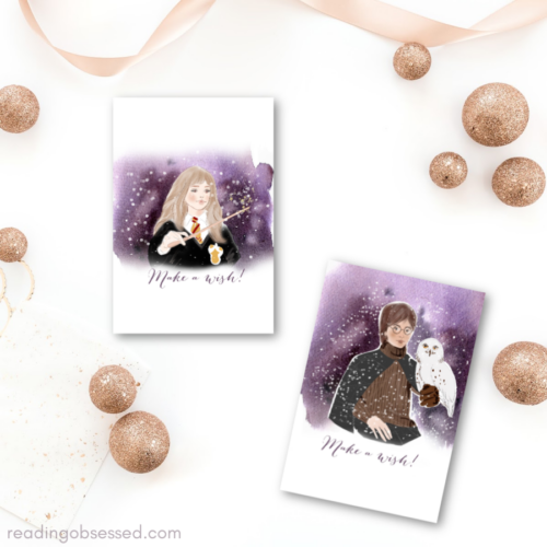 Harry Potter Printable Christmas Cards