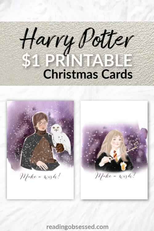 Harry Potter Printable Christmas Cards