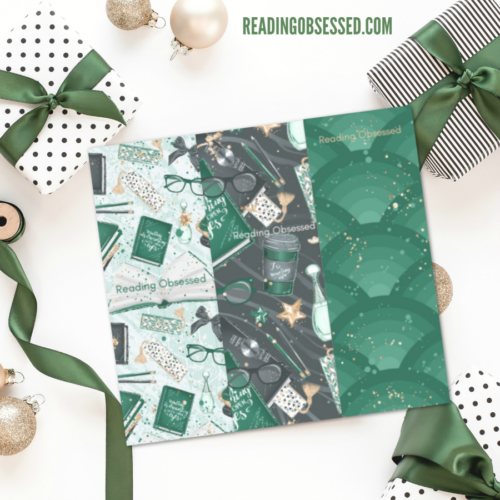 Slytherin Inspired Printable Bookmark Set