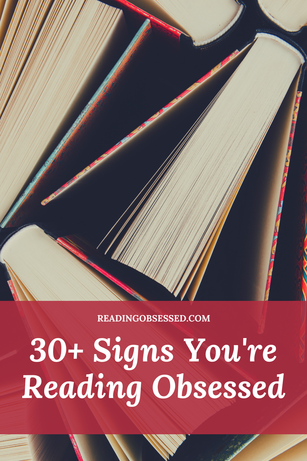 Signs You're Reading Obsessed